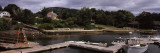 Pier in the Sea, Camden, Knox County, Maine, USA Photographic Print by  Panoramic Images