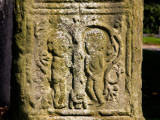 Carving of Adam and Eve on a High Cross, Kells, County Meath, Ireland Photographic Print