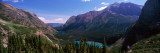 Lake Surrounded with Mountains, Alpine Lake, Us Glacier National Park, Montana, USA Photographic Print by Panoramic Images 