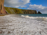 Ballydowane Cove, the Copper Coast, County Waterford, Ireland Photographic Print