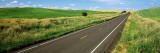 Road Passing Through a Field, Whitman County, Washington State, USA Photographic Print by  Panoramic Images