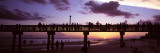 Pier on the Beach, Fort Myers Beach, Estero Island, Lee County, Florida, USA Photographic Print by  Panoramic Images