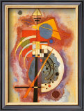 Hommage to Grohmann Poster by Wassily Kandinsky