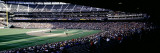 Baseball Players Playing Baseball in Stadium, Safeco Field, Seattle, King County, Washington State Fotografie-Druck von Panoramic Images