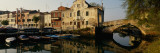 Reflection of Boats and Houses in Water, Venice, Veneto, Italy Photographic Print by Panoramic Images