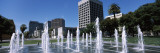 Park Fountain, Plaza De Cesar Chavez, Downtown San Jose, San Jose, Santa Clara County, California Photographic Print by Panoramic Images