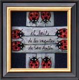 Baile de las Vaquitas de San Anton Art by Barbara Norris