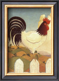 Country Crowers I Prints by Robert LaDuke