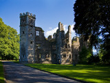 Ruins of 16th Century Mallow Castle, Mallow, County Cork, Ireland Photographic Print