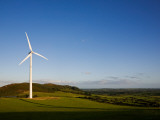 Beallough Windfarm, Above Portlaw, County Waterford, Ireland Photographic Print