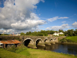 Bridge over the River Ilen Near Skibbereen, County Cork, Ireland Photographic Print