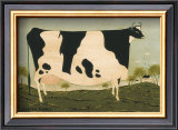 American Cow Art by Warren Kimble