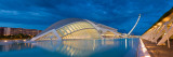 Museum at Waterfront, L'Hemisferic Planetarium, City of Arts and the Sciences, Valencia, Spain Photographic Print by  Panoramic Images