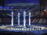 Representatives of the Four Host Nations at the Opening Ceremonies for the XXI Olympic Winter Games Photographic Print