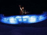 Violinist Performs During the Opening Ceremony for the Vancouver 2010 Olympics Photographic Print