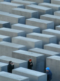 View of the Memorial for the Slain Jews in Berlin Photographic Print