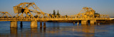 Drawbridge across a River, the Sacramento-San Joaquin River Delta, California, USA Photographic Print by  Panoramic Images