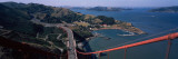 View of a Suspension Bridge, Golden Gate Bridge, San Francisco, California, USA Photographic Print by Panoramic Images