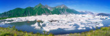 Icebergs Floating in the Lake, Bear Glacier Lake, Kenai Fjords National Park, Alaska, USA Photographic Print by  Panoramic Images