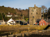 15th Century Ballyhack Castle and Harbour, Co Wexford, Ireland Photographic Print