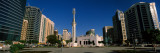 Mosque in a City, Sheikh Rashid Bin Saeed Al Maktoum Street, Abu Dhabi, United Arab Emirates Photographic Print by  Panoramic Images