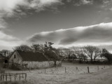 Old Unused Farm Near Ballyvooney, the Copper Coast, County Waterford, Ireland Photographic Print