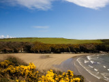 Stradbally Cove, the Copper Coast, Co Waterford, Ireland Photographic Print