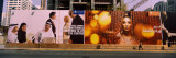 Billboards at a Construction Site, Abu Dhabi, United Arab Emirates Photographic Print by  Panoramic Images