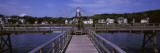 Pier in the Sea, Boothbay Harbor, Lincoln County, Maine, USA Photographic Print by  Panoramic Images