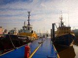 Tugboats at Moorings, Waterford City, County Waterford, Ireland Photographic Print