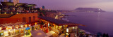View of a Restaurant, Miraflores District, Lima Province, Peru Photographic Print by  Panoramic Images