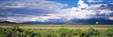 No Passing Sign at the Roadside, Taos County, New Mexico, USA Photographic Print by Panoramic Images