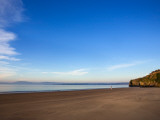 Arthurstown Beach, Overlooking Waterford Harbour, Co Wexford, Ireland Photographie