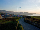 Eyeries Village, Beara Peninsula, County Cork, Ireland Photographic Print