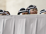 St. Brigida Nuns Attend Pope Benedict XVI's General Audience in St. Peter's Square at the Vatican Fotografisk tryk