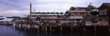 Stilt Houses at a Harbor, Bar Harbor, Mount Desert Island, Hancock County, Maine, USA Photographic Print by  Panoramic Images