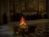 Lighting Candles at Church of Holy Seplulchre, Believed to Be Site of Jesus Christ's Crucifixion Photographic Print