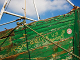 Old Fishing Boat, Cheekpoint, County Waterford, Ireland Photographic Print
