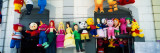 Colorful Pinatas at Market, Caracas, Venezuela Photographic Print by  Panoramic Images