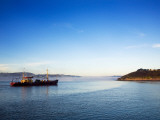 Mussel Boat at Dawn, Arthurstown, Waterford Harbour, Co Waterford, Ireland Photographic Print