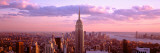 View of City, Rockefeller Center, Midtown Manhattan, Manhattan, New York City, New York State, USA Lámina fotográfica por Panoramic Images,