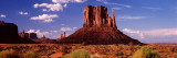 Rock Formations on Landscape, the Mittens, Monument Valley Tribal Park, Monument Valley, Utah, USA Photographic Print by Panoramic Images