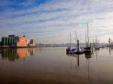 Early Morning River Suir, Waterford City, County Waterford, Ireland Photographic Print