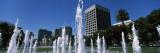 Park Fountain, Plaza De Cesar Chavez, Downtown San Jose, San Jose, Santa Clara County, California Photographic Print by  Panoramic Images