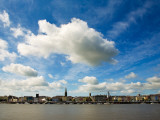 Waterford City Skyline from the North Bank of the River Suir, County Waterford, Ireland Photographic Print