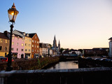 St Finbarr's Cathedral, River Lee , Cork City, County Cork, Ireland Photographic Print