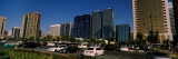 Skyscrapers in a City, Abu Dhabi, United Arab Emirates Photographic Print by  Panoramic Images