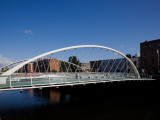 James Joyce Bridge, over the River Liffey, Dublin, Ireland Photographic Print
