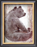 Bear Prints by Silvana Crefcoeur