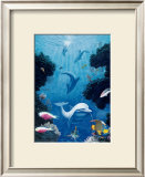 Dolphin Smiles, Maui Prints by Andrew Annenberg
